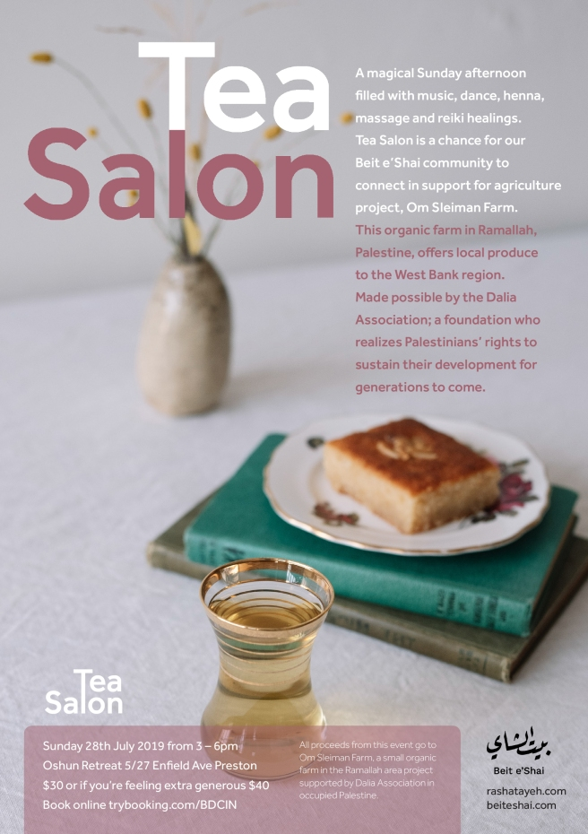 Tea Salon Flyer